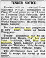Tender Notice (The Straits Times, Page 14. 29 January 1964).jpg