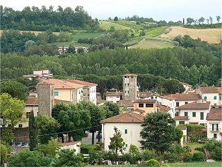 Terranuova Bracciolini Comune in Tuscany, Italy