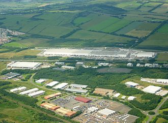 Livingston, West Lothian - Tesco's Distribution Centre for Scotland and Northern Ireland between Livingston and Bathgate