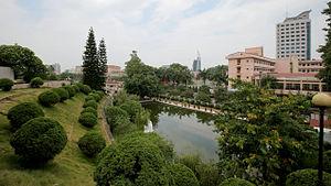 Thái Nguyên - Image: Thái Nguyên skyline