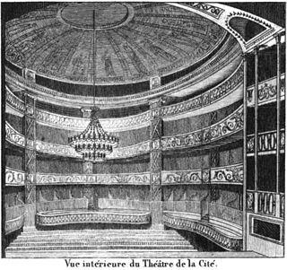 Théâtre de la Cité-Variétés former theatre in Paris