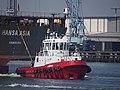 Thamesbank (tugboat, 1992), IMO 9060704 - Callsign PHYE, Botlek, Port of Rotterdam pic2.JPG