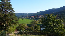 A general view of Thannenkirch