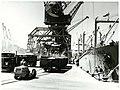 "The ""Apollonius"" unloading bulk phosphate from Christmas Island, November 1977 (33562811178).jpg"