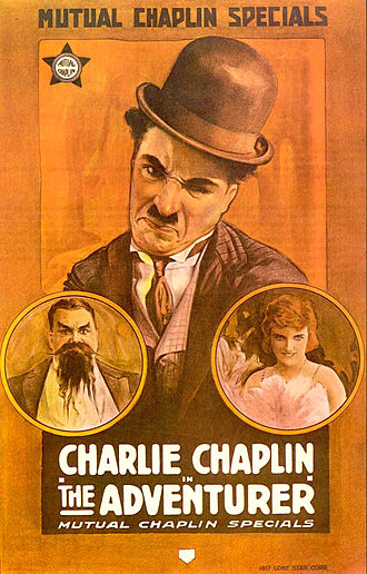 The Adventurer (1917 film) - Theatrical release poster