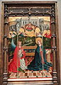 The Annunciation, by 1457, Johann Koerbecke - Art Institute of Chicago - DSC09627.JPG