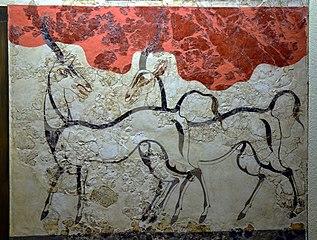 Antelope fresco Akrotiri