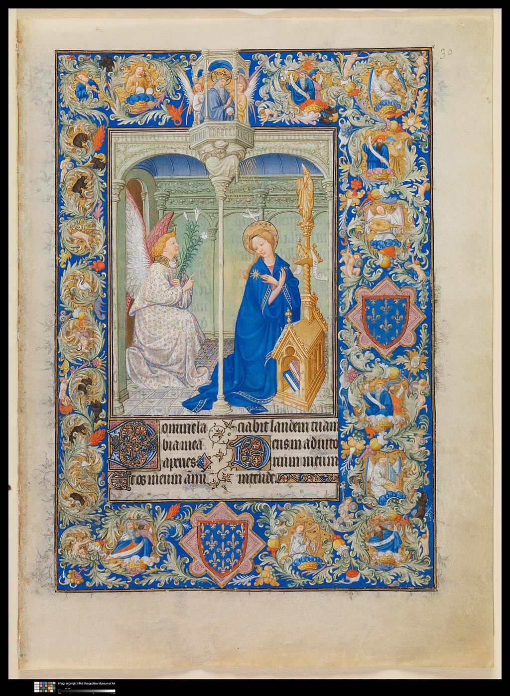 The Belles Heures of Jean de France, duc de Berry MET DP313153