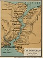 The Bosporus - W & A K Johnston's war map of the Dardanelles & Bosporus (5008041) (cropped).jpg