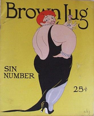 The Brown Jug - November 1928, Sin Number