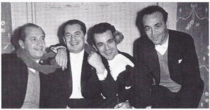 Budapest String Quartet - The Budapest String Quartet, March 1938. L-to-R: Josef Roisman, Boris Kroyt, Alexander Schneider, Mischa Schneider