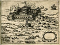 The Castle Kilitbahir on the Dardanelles - Camocio Giovanni Francesco - 1574.jpg