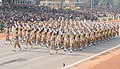 The Central Reserve Police Force marching contingent passes through the Rajpath during the 62nd Republic Day Parade-2011, in New Delhi on January 26, 2011.jpg