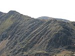 File:The Clogwyn Mawr Anticline between Tryfan and Y Derlwyn - geograph.org.uk - 287741.jpg