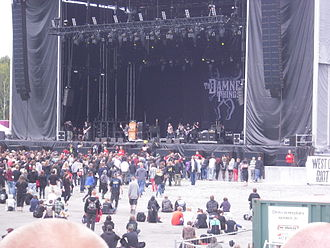 The Damned Things - The Damned Things performing live at Metaltown Festival in June 2011
