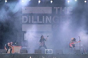 The Dillinger Escape Plan - Image: The Dillinger Escape Plan With Full Force 2014 16