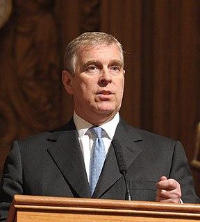 Prince Andrew, Duke of York Member of the British royal family