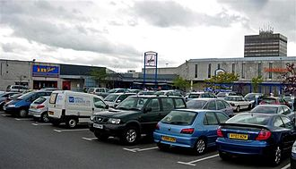 Washington, Tyne and Wear - The Galleries shopping centre is the town's main commercial centre.