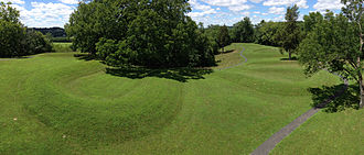 Serpent Mound - The Great Serpent Mound - an ancient Native American effigy in Adams County, Ohio.