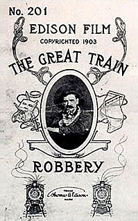 <i>The Great Train Robbery</i> (1903 film) 1903 short film directed by Edwin Stanton Porter