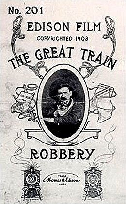 The Great Train Robbery, Edwin S. Porter, Edison Films, 1903 Poster.jpg