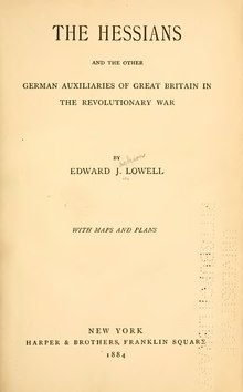 The Hessians and the other German auxiliaries of Great Britain in the revolutionary war.djvu