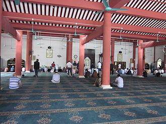Xianxian Mosque - Xianxian Mosque prayer hall
