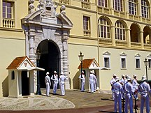 Monaco-Security-The Palace Guards