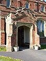 The Parish Church of Lytham, St Cuthbert, Porch - geograph.org.uk - 1884755.jpg