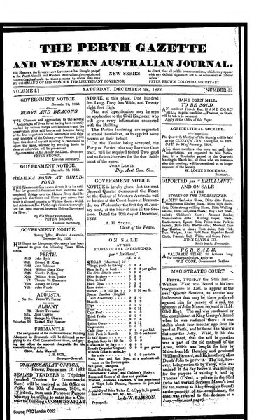 File:The Perth Gazette and Western Australian Journal 1(52).djvu