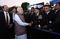 The Prime Minister, Shri Narendra Modi during the 'At Home' reception, organised by the Chief of Naval Staff, Admiral Sunil Lanba, on the occasion of Navy Day, in New Delhi on December 04, 2016.jpg