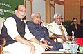 The Prime Minister Shri Atal Bihari Vajpayee making the first call to inaugurate the Kisan call Centre at a function organised by the Ministry of Agriculture in New Delhi on January 21, 2004.jpg