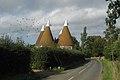 The Roundels and The Square Oast, Gatehouse Farm, Hunton Road, Marden, Kent - geograph.org.uk - 330973.jpg