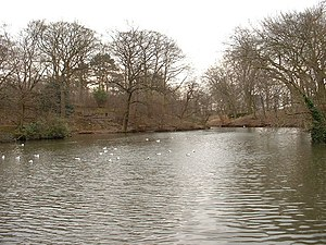 Moor Park, Preston - The Serpentine Lake