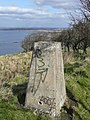 The Trig Point on The Heads of Ayr - geograph.org.uk - 728557.jpg
