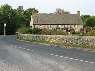 Bucknell, Oxfordshire - The Trigger Pond pub