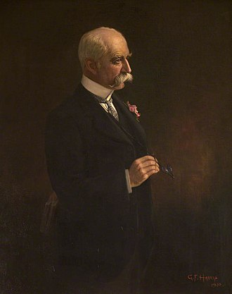 Godfrey Morgan, 1st Viscount Tredegar - 1910 painting of Lord Tredegar by George Frederick Harris