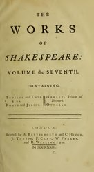 William Shakespeare: The Works of Shakespeare