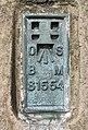 The flush bracket on Wisp Hill trig point - geograph.org.uk - 400435.jpg