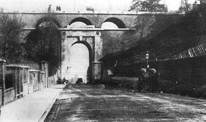 A1 in London - John Nash's original bridge over Archway Road