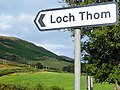 The road to Loch Thom - geograph.org.uk - 1417566.jpg