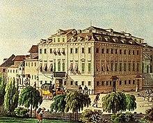 Jakob Alt: Theater an der Wien, 1815 (Source: Wikimedia)