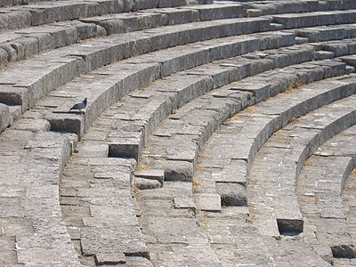 Theatre in Ostia Antica.