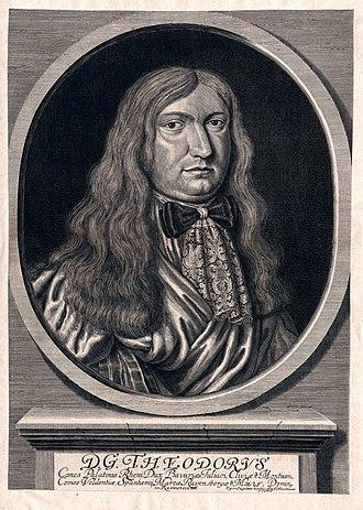 Theodore Eustace, Count Palatine of Sulzbach - Image: Theodor, Pfalzgraf von Sulzbach Hz von Bayern