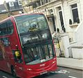 They return! Abellio London - AD E40H-Alexander Dennis Enviro400 - 2468 SN64OES - Route 49 (15412519005).jpg
