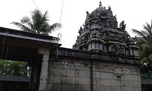 Thirukkavalampadi - Image of the shrine of Thayar