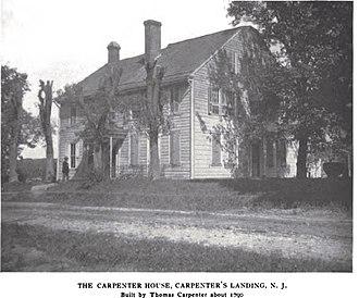 Mantua Township, New Jersey - Thomas Carpenter House