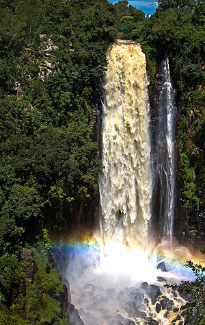 Nyahururu - Thomson's Falls in Nyahururu.