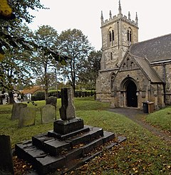 Thornton Curtis Churchyard - geograph.org.uk - 567741.jpg
