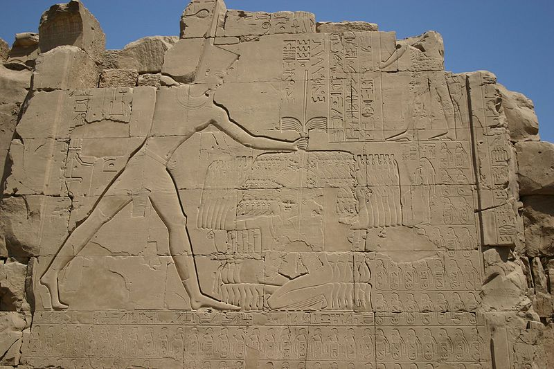 Archivo:Thutmose III at Karnak.jpg